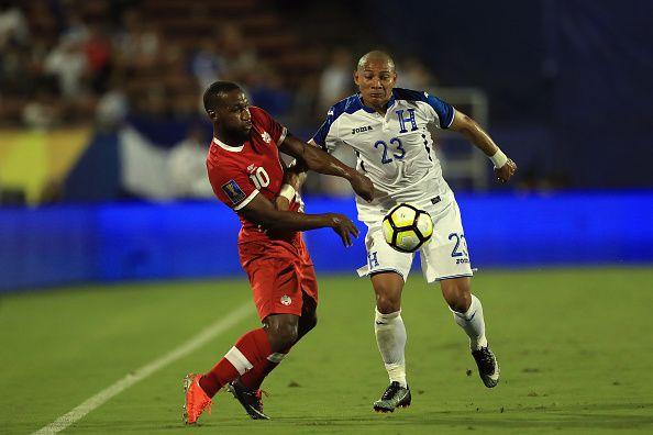 Carlos 'Mango' Sanchez (23) es seleccionado de Honduras. FC Dallas estaría interesado en sus servicios. Foto GETTY IMAGES