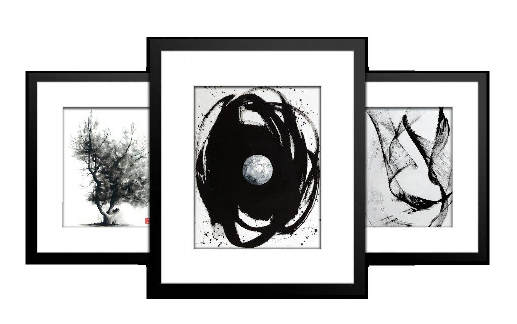 This is an example of framed black and white images you might be able to acquire at ArtMail.co.