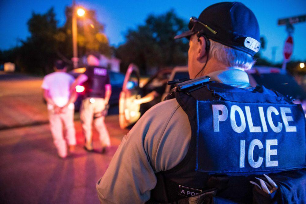 ICE detuvo a 58 personas en operativo realizado la semana pasada. CORTESÍA ICE