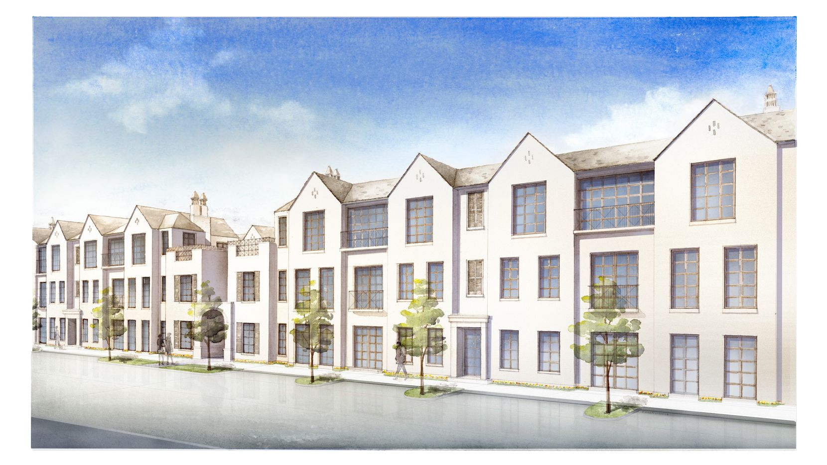 The first phase of the Corvalla condos will have 69 units