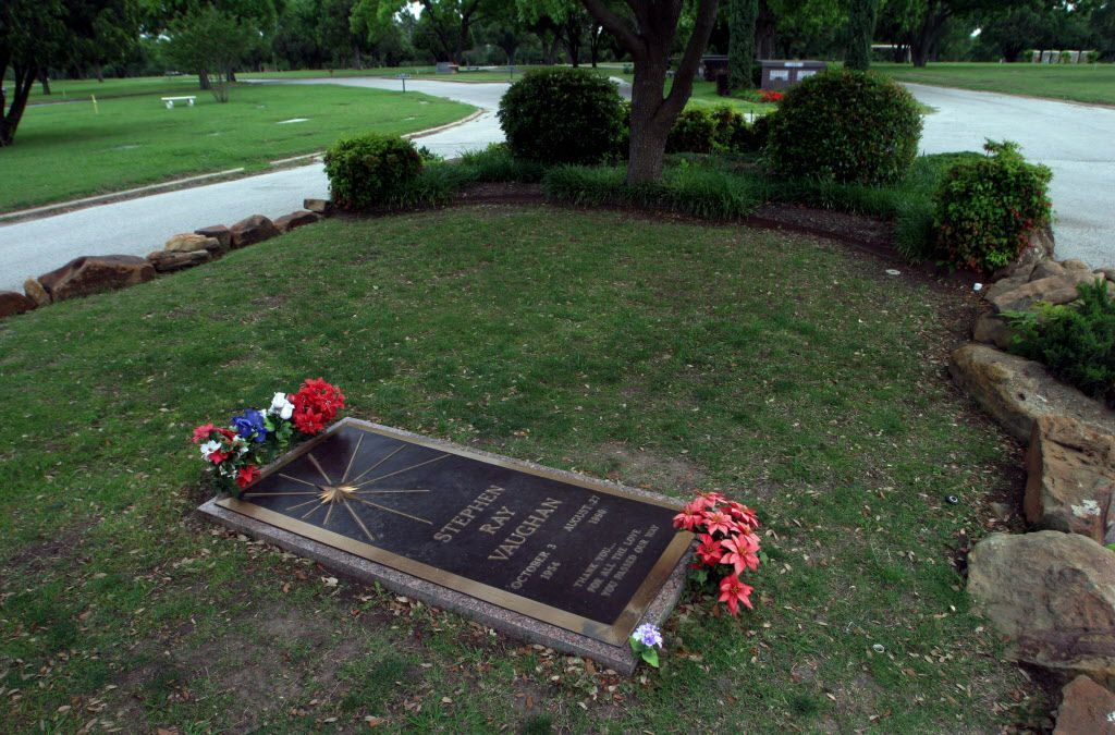 If you want to pay Stevie Ray your respects, you have to trek out to Laurel Land ... for now. (File photo)