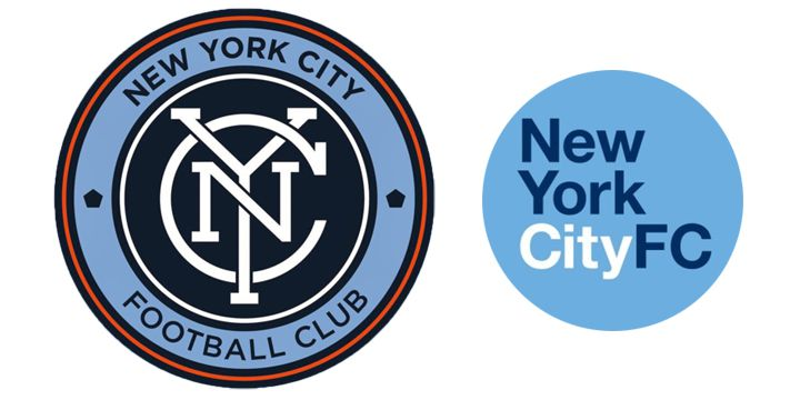New York City FC logos.