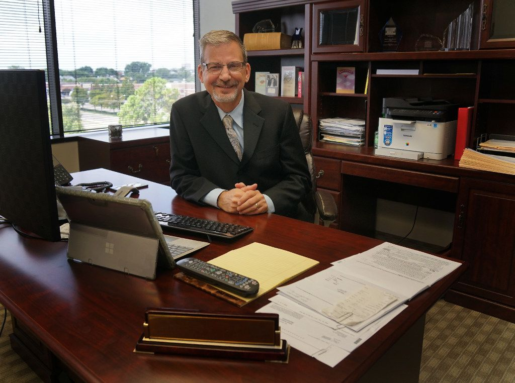 Businessman and gubernatorial candidate Jeffrey Payne at his office in Dallas on Aug. 8, 2017. Payne, a Democrat, wants to bring bipartisan cooperation equality back to state government.