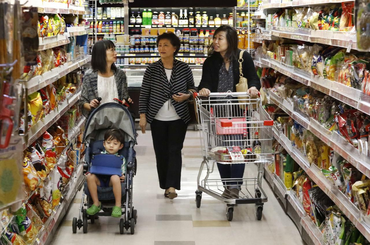 """One shopper calls H Mart, a 70,000-square-foot Korean supermarket at the Shops of Old Denton, """"a food pilgrimage,"""" where you can find more than 50 types of live fish."""