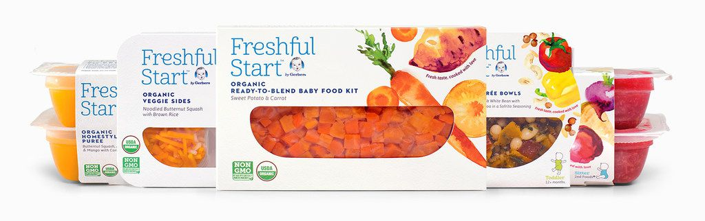 Freshful Start Gerber refrigerated baby and toddler meals will be tested in 50 Walmart stores in Texas, Arkansas, Kansas and Missouri beginning in late October 2018.