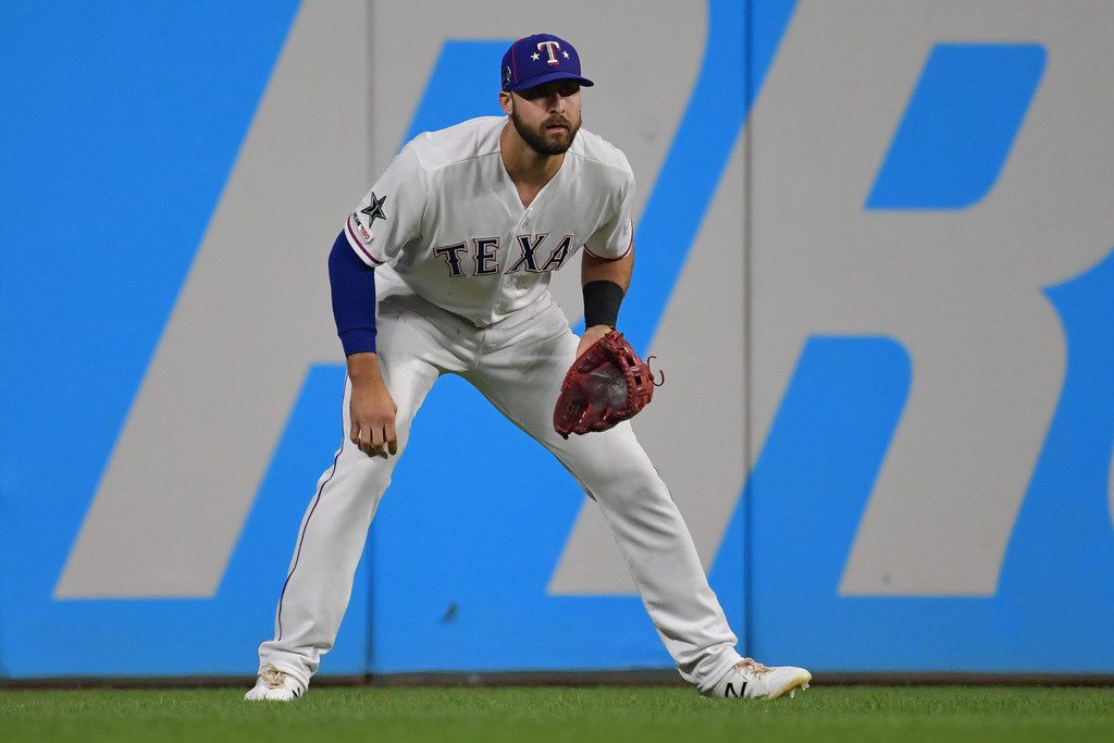 CLEVELAND, OHIO - JULY 09: Joey Gallo #13 of the Texas Rangers participates in the 2019 MLB All-Star Game at Progressive Field on July 09, 2019 in Cleveland, Ohio. (Photo by Jason Miller/Getty Images)
