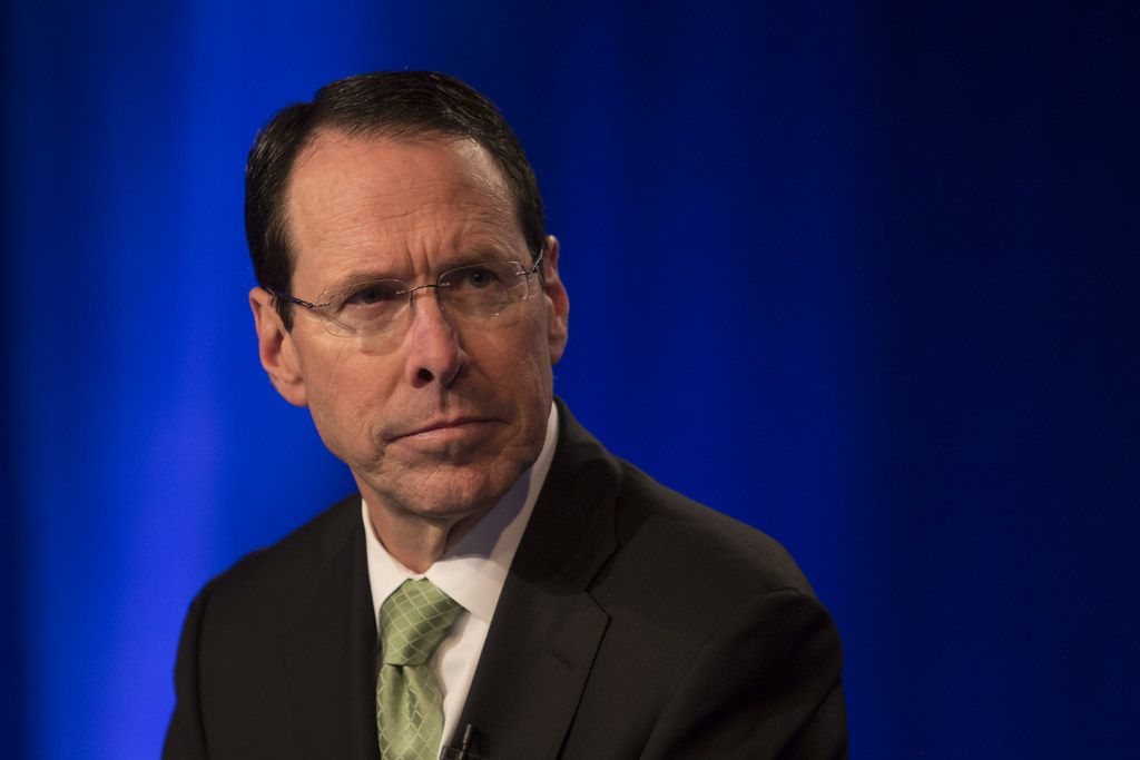 """Last year, after the U.S. Justice Department sued to stop the AT&T-Time Warner merger, AT&T Chairman and CEO Randall Stephenson referred to President Donald Trump as """"the elephant in the room."""" Despite the political overtones, AT&T won a convincing victory in court."""