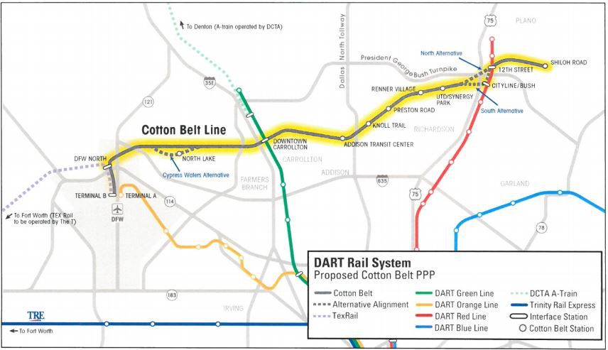 Cotton Belt Corridor