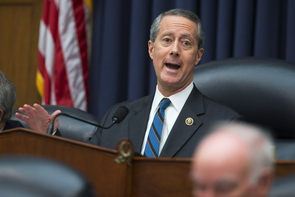 U.S.Rep. Mac Thornberry, chairman of the House Armed Services Committee, spoke Tuesday on Capitol Hill. (Evan Vucci/The Associated Press)