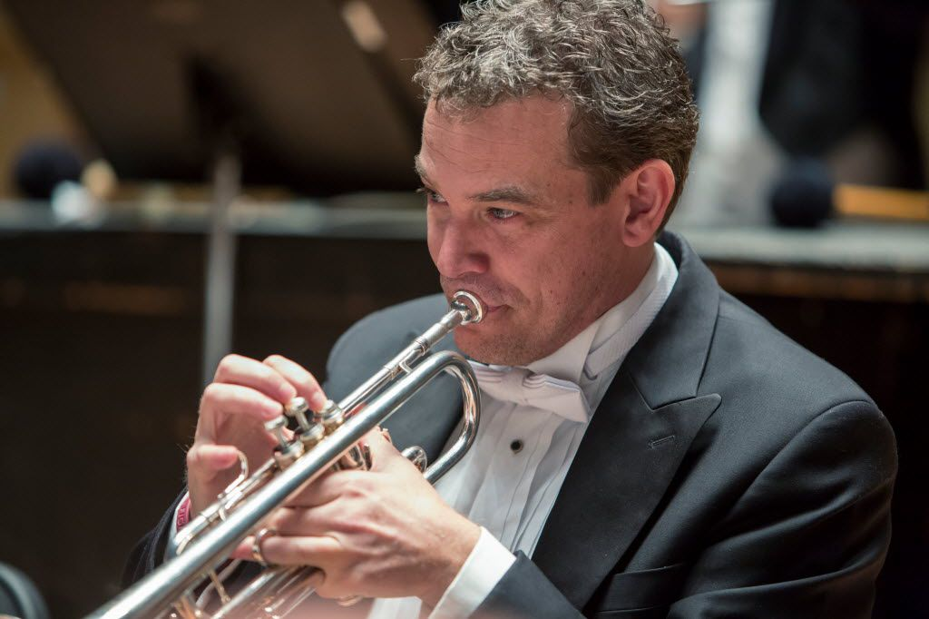 Ryan Anthony, the DSO'€™s principal trumpet, will speak at the Obelisk Awards luncheon Nov. 7.