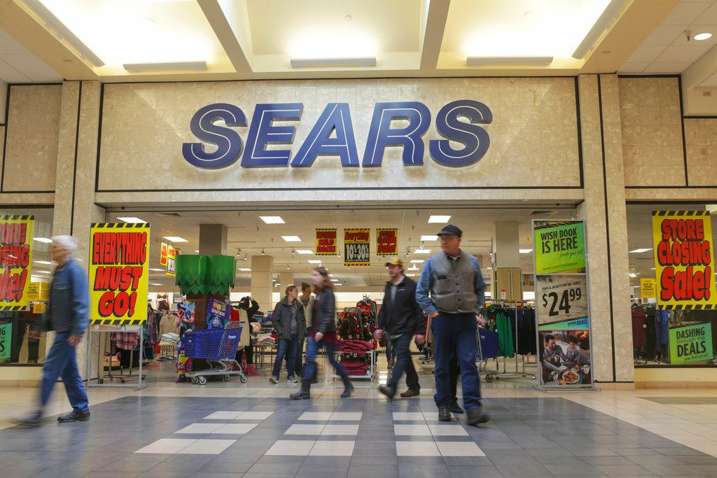 The Sears department store at the Grand Teton Mall in Idaho Falls, Idaho was open for Black Friday but not for much longer.