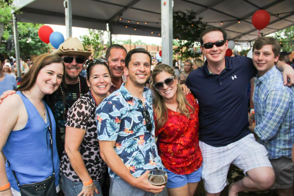 Groups of friends attended the 6th Annual Boil for the Brave crawfish boil benefitting Veterans Rehabilitation program was held at The Rustic in Uptown on April 18, 2015