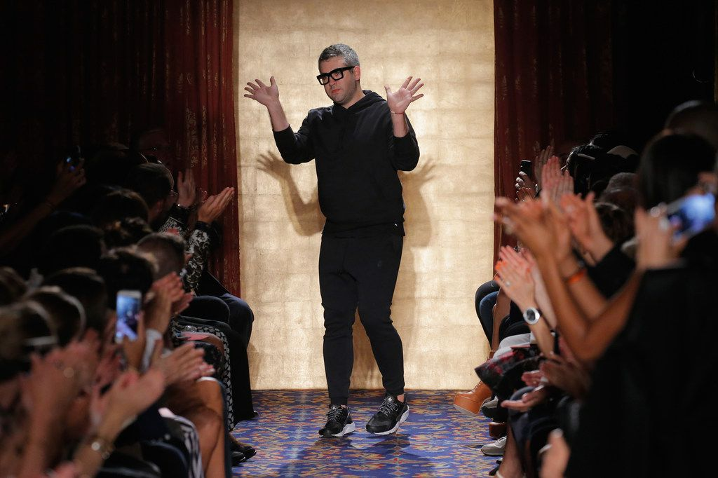 Brandon Maxwell walks the runway during his show at New York Fashion Week in September 2016. Maxwell hails from Longview.