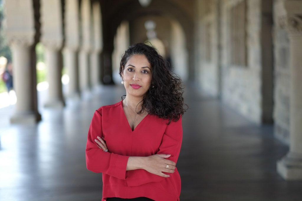 Seema Yasmin at Stanford University