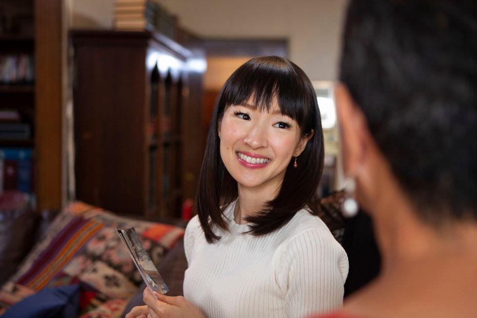 "Home organizer Marie Kondo stars in Netflix's new reality series, ""Tidying Up with Marie Kondo."""