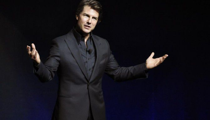 "Tom Cruise realizó una aparición sorpresa en CinemaCon 2015, en Las Vegas, para promover su película ""Mission: Impossible: Rogue Nation"". (AP/CHRIS PIZZELLO)"