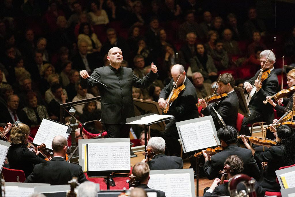 Jaap van Zweden conducted the Dallas Symphony Orchestra in the Amsterdam Concertgebouw on March 12, 2013.