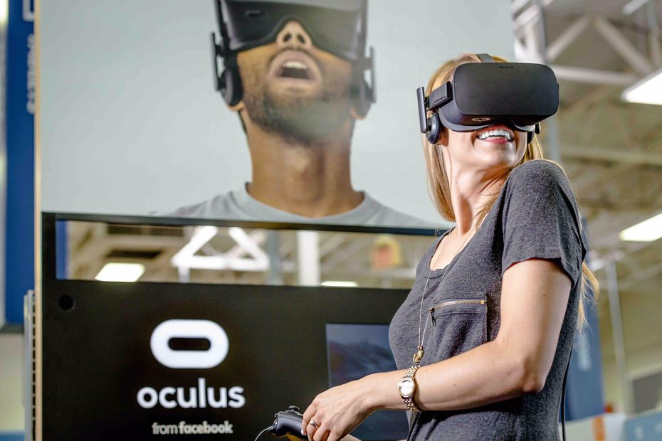 Facebook bought virtual reality company Oculus in 2014. The company 's headset is called the Oculus Rift.