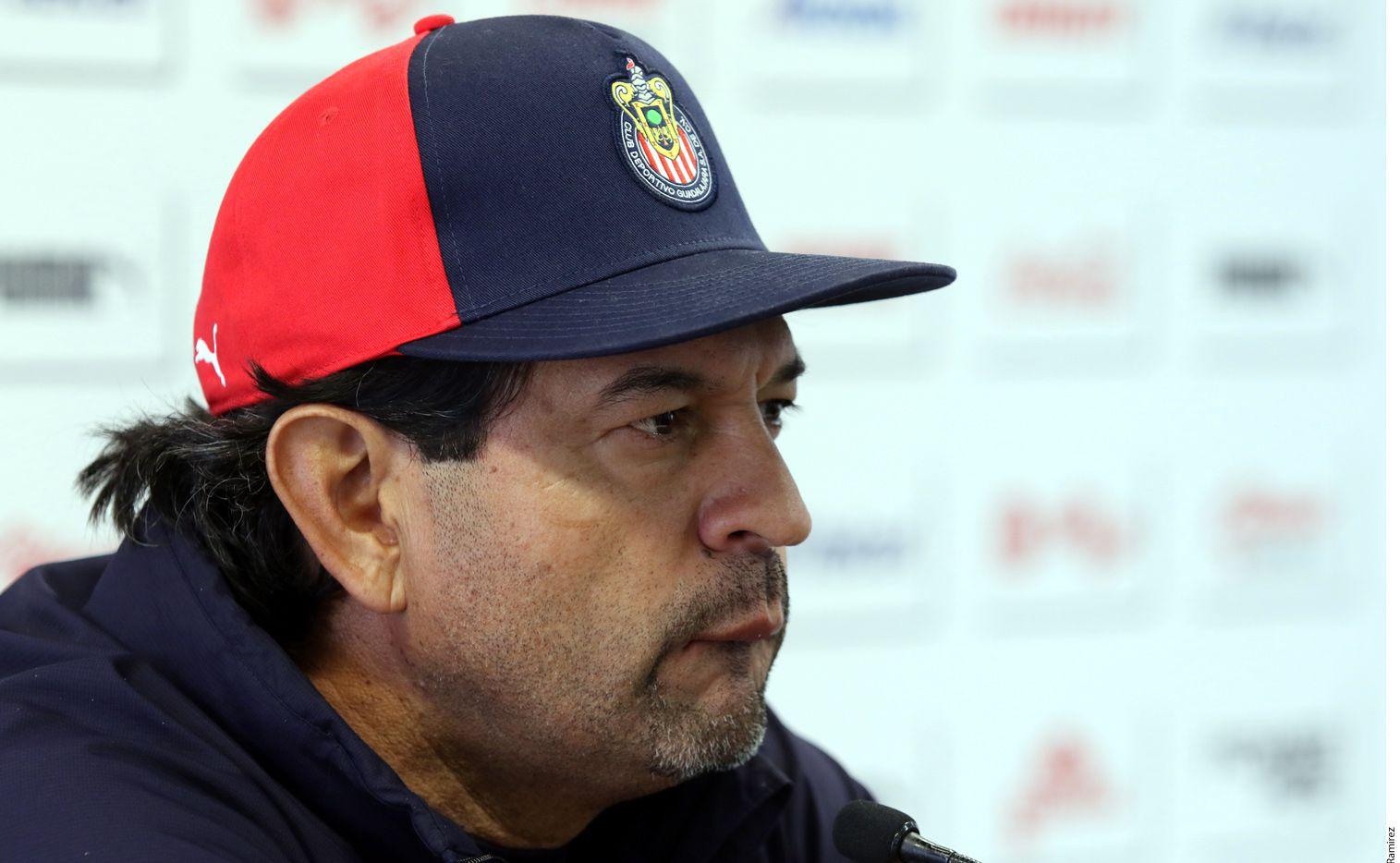 Cardozo dijo que le gusta hablar de frente y para él sus jugadores son iguales al nivel de respeto./ AGENCIA REFORMA