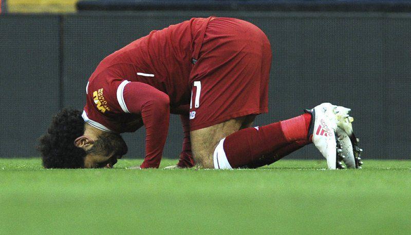 Mohamed Salah y los demás jugadores de la selección de Egipto son musulmanes. El Ramadán finaliza justo el día del inicio del Mundial de Rusia. Foto AP