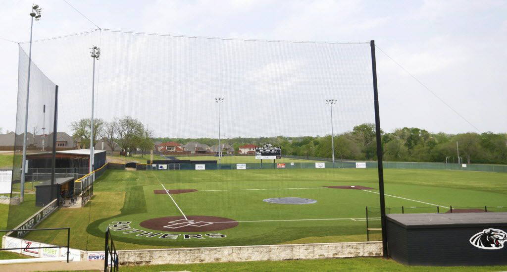 The The Plano East baseball field known as Rusty Franklin Field is shown on Thursday, April 9, 2015 in Plano, Texas. (Gregory Castillo/The Dallas Morning News)