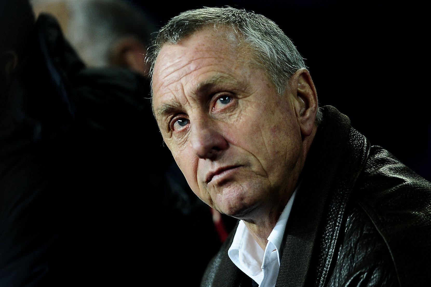 Johan Cruyff en 2009. (AP Photo/Manu Fernandez, File)
