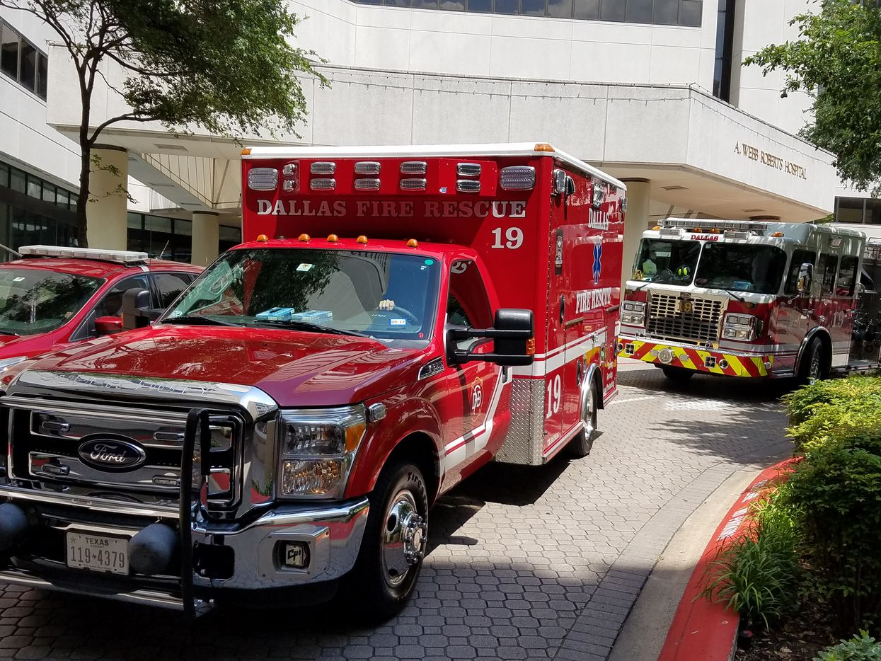 It was the last Dallas Fire-Rescue vehicle that An rode in, Rescue 19, that drove him home Wednesday.