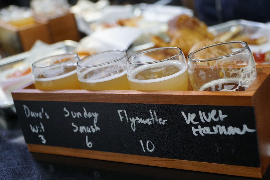 Soul Fire Brewing Co. serves original recipes, as well as craft beers and ciders from around Texas.