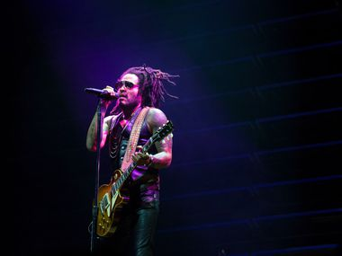 Lenny Kravitz performs at The Theatre at Grand Prairie on Saturday, September 14, 2019 in Grand Prairie, Texas.