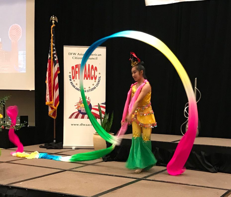 A cultural performance at the DFWAACC Annual Awards Banquet on Saturday in Richardson. Photo by Deborah Fleck/Staff