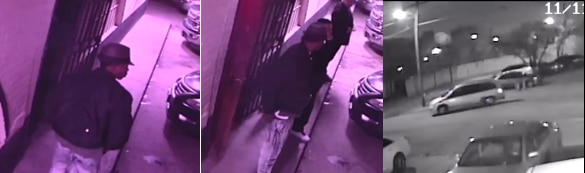Police on Monday released surveillance footage of a man suspected in connection with the shooting.