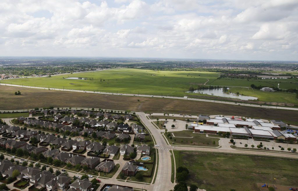 Brinkmann Ranch a 3,500 acre piece of land located between Preston Road and Independence Parkway just south of El Dorado in Frisco on Thursday, April 14, 2016. (Vernon Bryant/The Dallas Morning News)