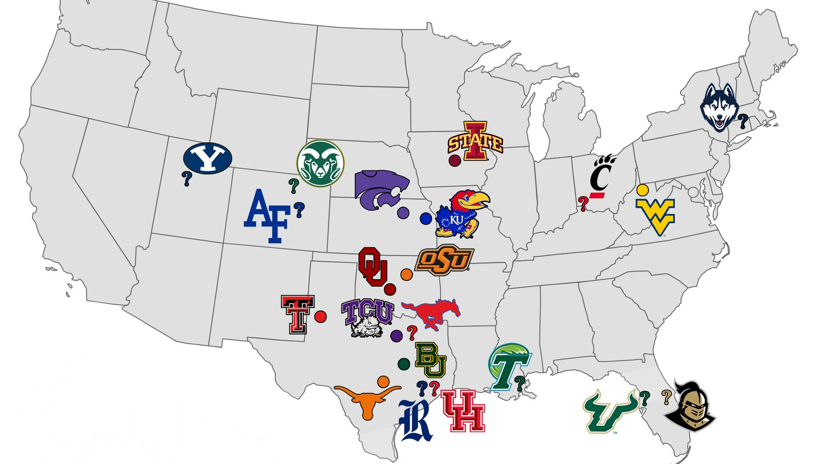 If the Big 12 does expand, which schools could join the conference?
