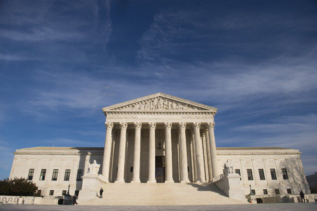 This file photo from Jan. 31, shows the US Supreme Court  in Washington, DC. (AFP/Getty Images)