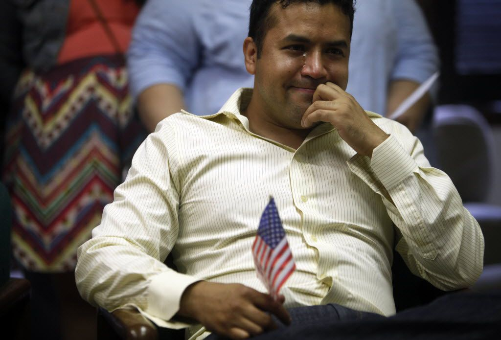 In 2012, Ramiro Luna was tearful as he watched President Barack Obama announce the initiative known as Deferred Action for Childhood Arrivals, or DACA. Luna, a Mexican immigrant, became a DACA beneficiary.