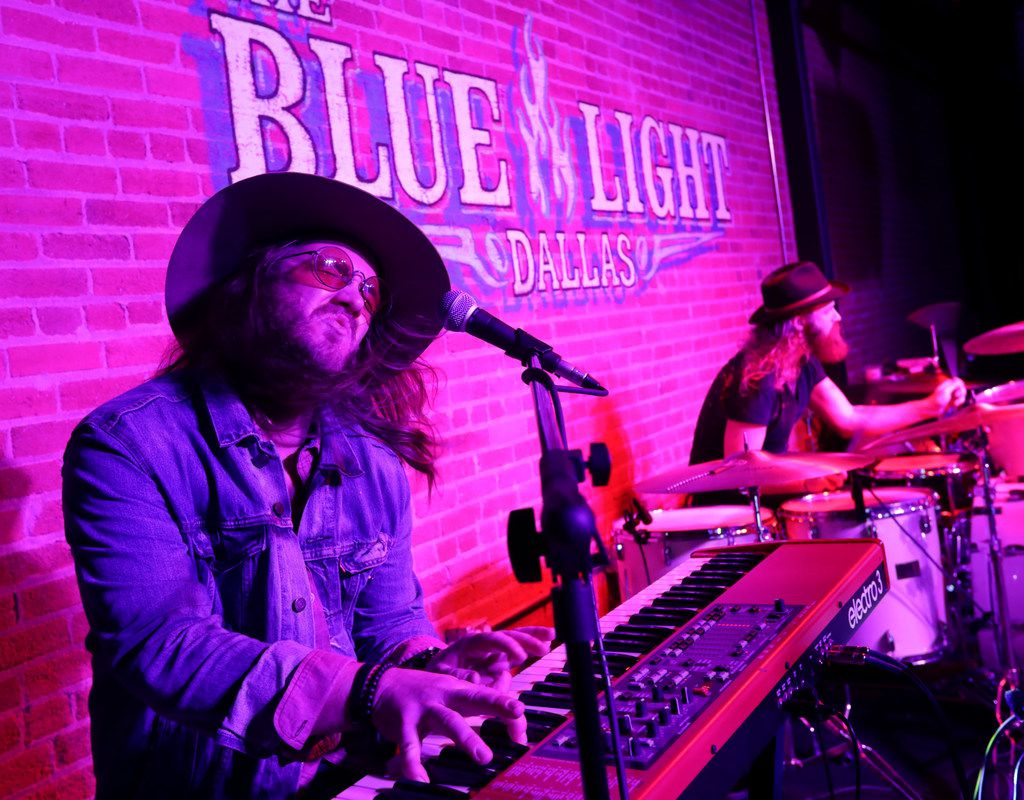 The Dalton Domino Band performs at Blue Light Live in Dallas, TX, on Oct. 19, 2018. (Jason Janik/Special Contributor)