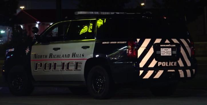 El Departamento de Policía de North Richland investiga un ataque de enojo carretero (road rage). Foto DMN