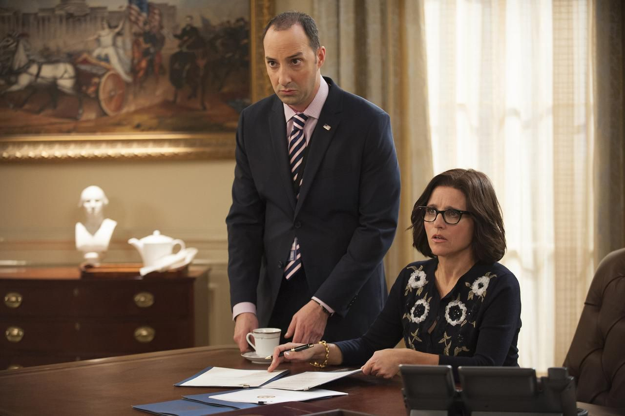 """Julia Louis-Dreyfus es la protagonista de la popular serie cómica de HBO """"Veep"""". (AP/FOTOS: HBO)"""