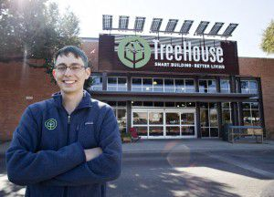 """TreeHouse CEO Jason Ballard says, """"We're going to prove with the Dallas store that we're not a store for special people, we're a store for everyone."""" (Thao Nguyen/Special Contributor)"""