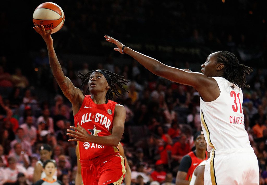 Indiana's Erica Wheeler leads Team Wilson to win at WNBA All