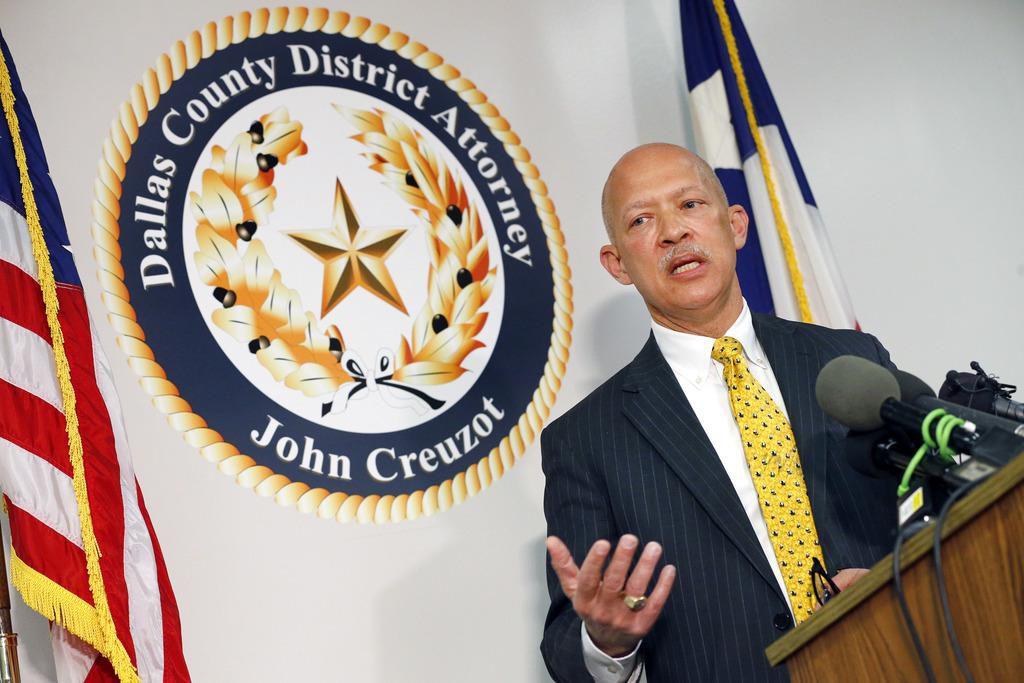 El fiscal John Creuzot aclaró su política de no procesar robos menores que busca descriminalizar la pobreza. (DMN/TOM FOX)