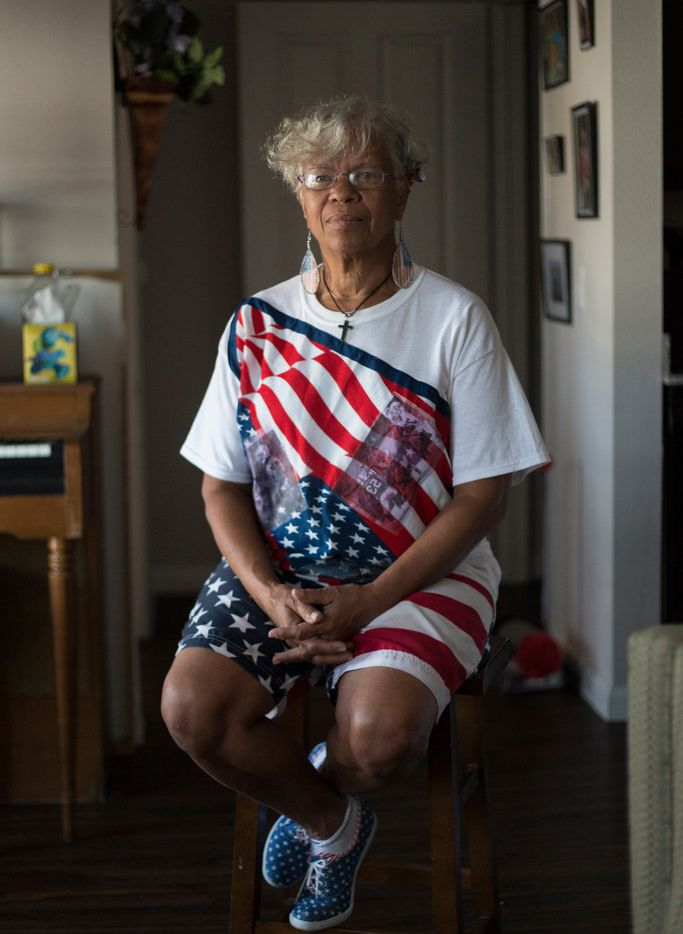 Sheila Procella, now 62 and living in Plano, was diagnosed with military sexual trauma and post-traumatic stress disorder in 2014, nearly three decades after her service. Procella  is a veteran of the U.S. Air Force and the Texas Air National Guard.