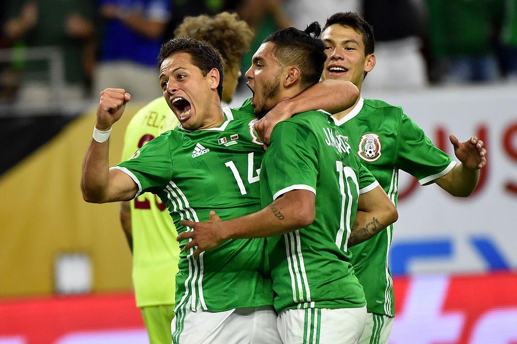 Osorio lanzó la convocatoria para la selección de México que jugará la Copa Oro .  Foto AP
