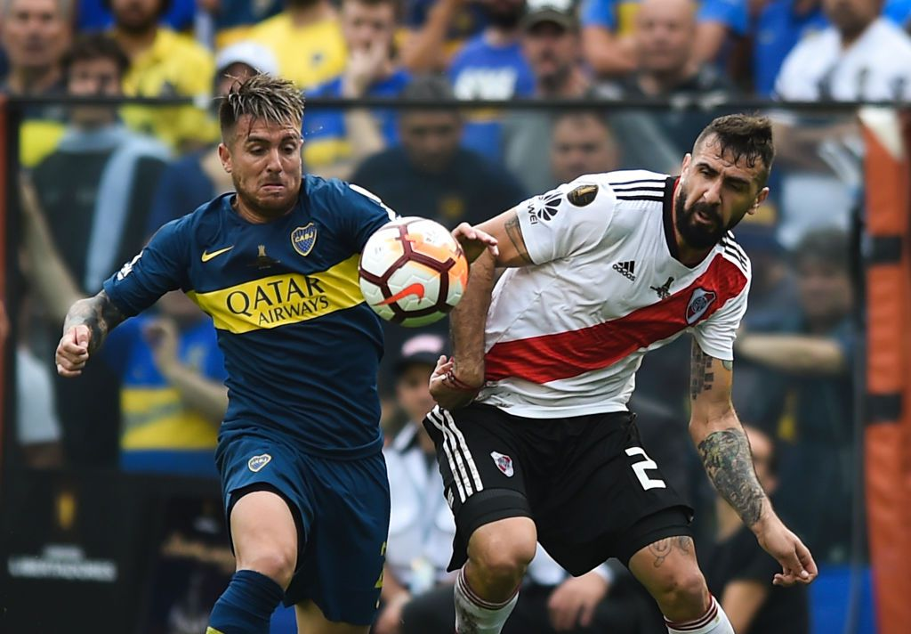 Boca Juniors y River Plate se enfrentan el sábado 24 en la final de vuelta de la Copa Libertadores de América. (Photo by Marcelo Endelli/Getty Images)