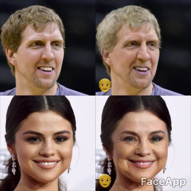 We made a bunch of D-FW celebrities look old with FaceApp