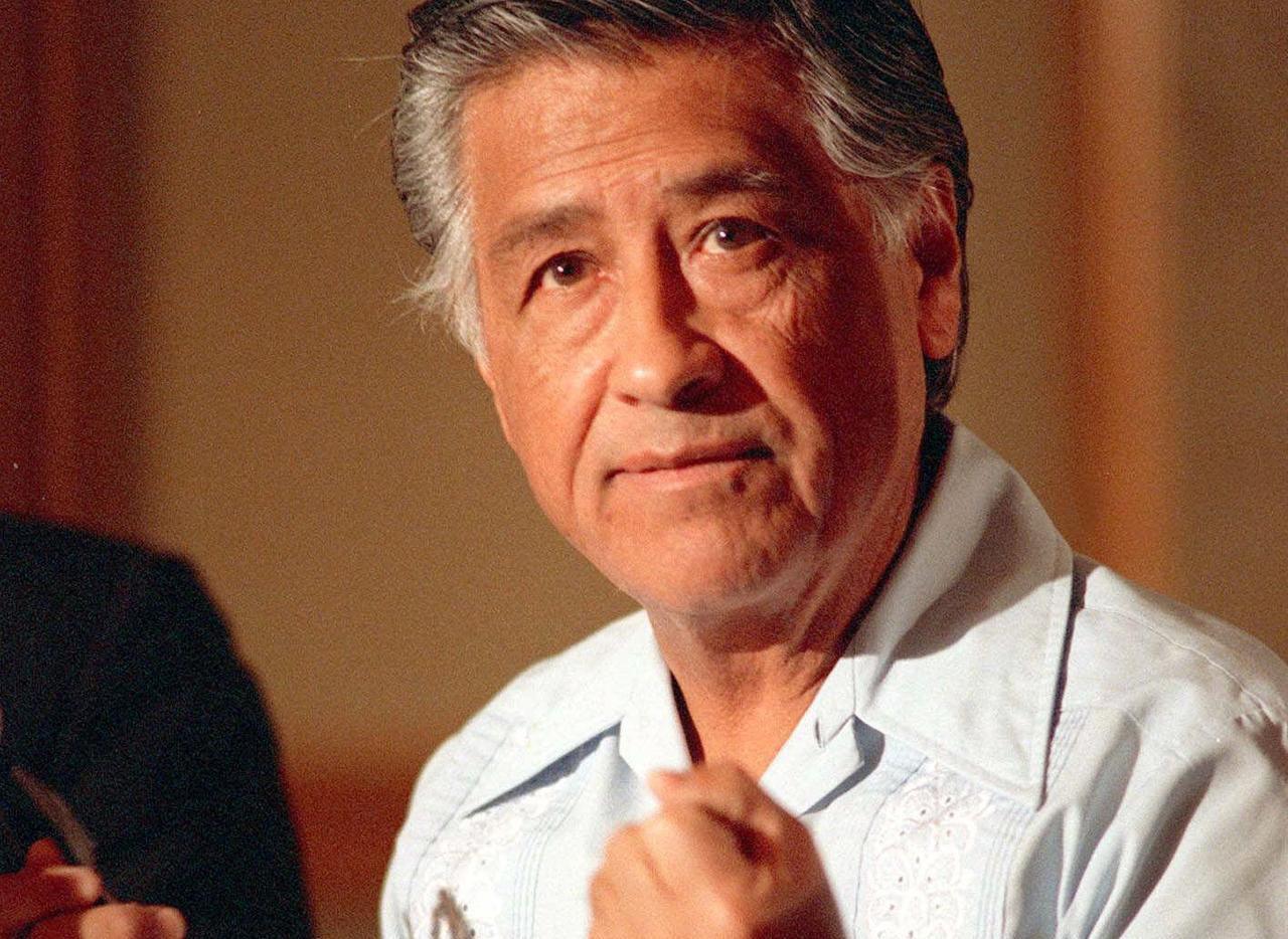 César Chávez.(AP)