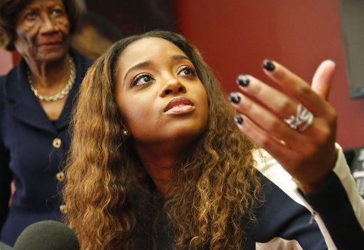 Tamika Mallory, líder de derechos civiles. /AP