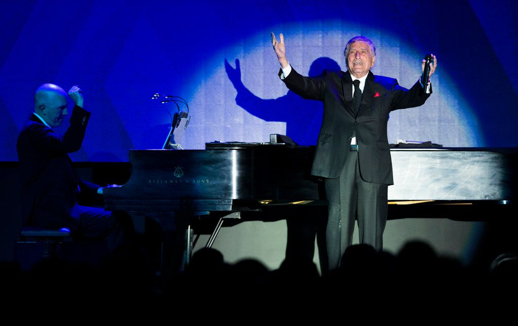 Tony Bennett performs at The Statler Hotel's grand reopening on Friday -- more than 60 years after he played the hotels Empire Room.