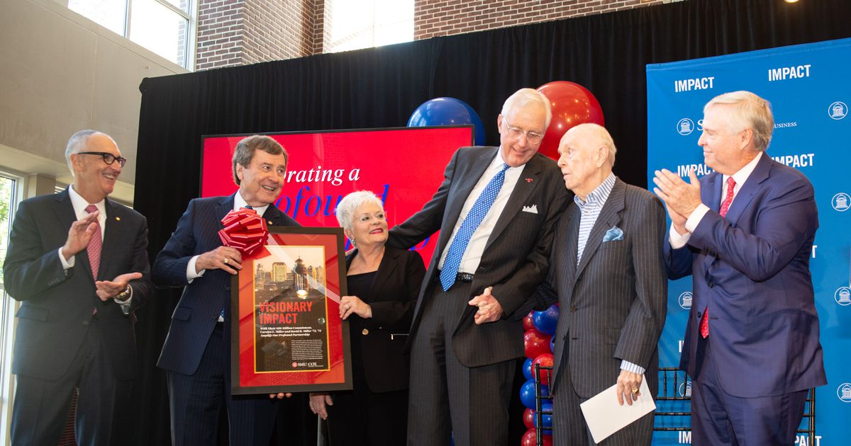Big gift to SMU shines a spotlight on publicity-shy couple - The Dallas Morning News