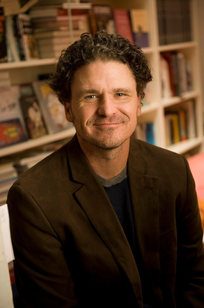 Dave Eggers at his office in San Francisco in 2012.